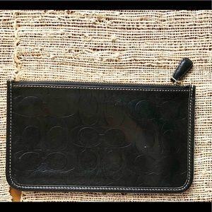 Coach Authentic Super Slim Clutch Wallet